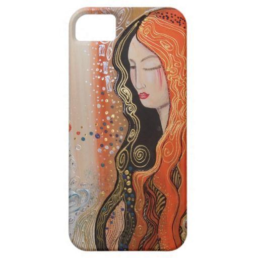 Ginger Lady Elegant Iphone 5/5S case Art Nouveau