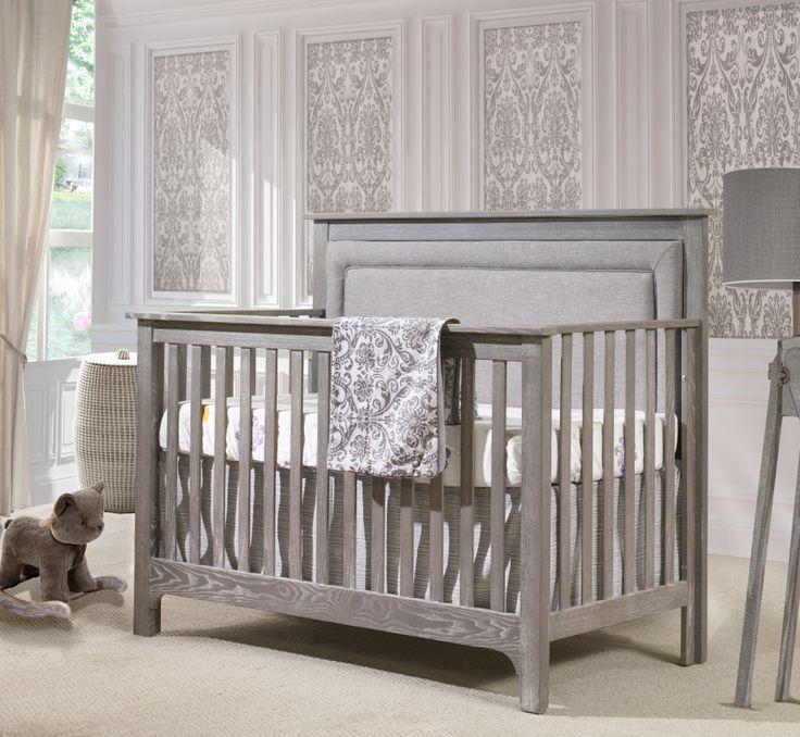Madison (Gray) Linens Bumperless Crib Bedding