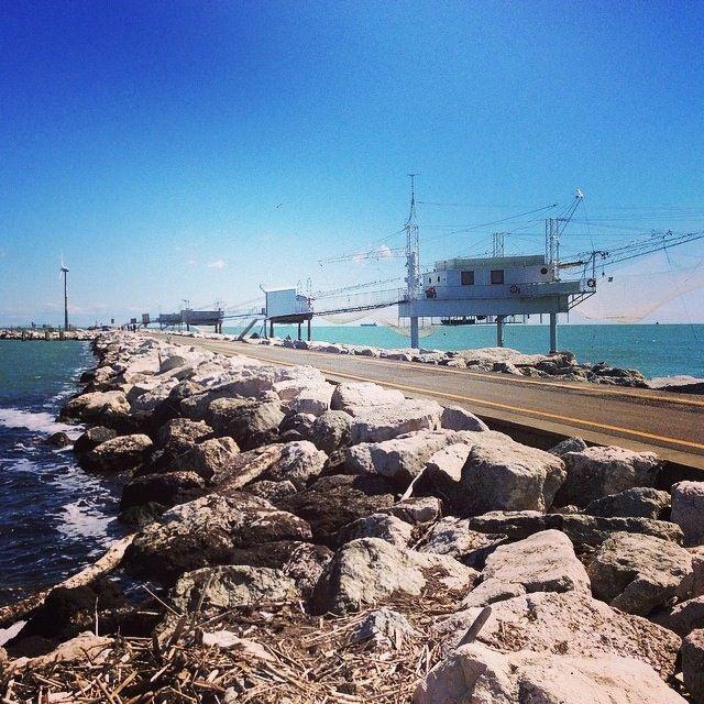 Passeggiata a Punta Marina sul molo | MyTurismoER: Ravenna attraverso lo sguardo fotografico di @livingravenna