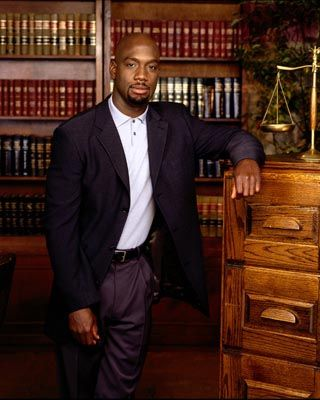 RICHARD T. JONES - One of the reasons I was obsessed with Judging Amy.