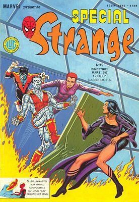 Couverture de Spécial Strange -49- Spécial Strange 1987