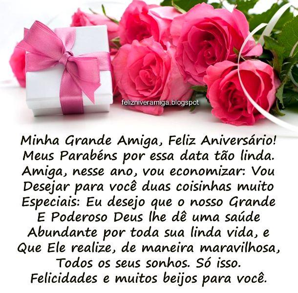 Mensagem de aniversário para amiga: Mensagem de Aniversário para amiga - Facebook e Whatsapp