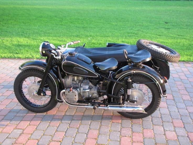 1960 KMZ K750 restored to mint condition