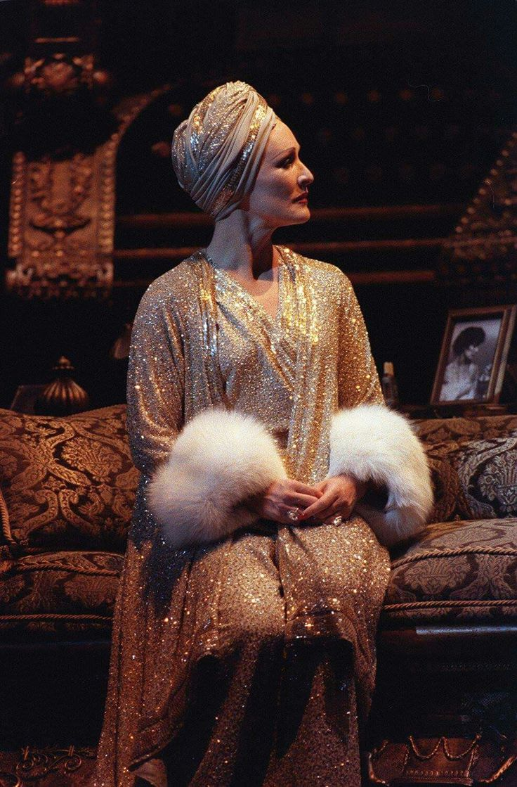 Glenn Close as Norma Desmond in Sunset Boulevard. 1995