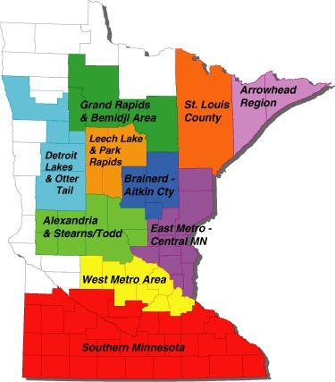 Minnesota Fishing Maps Minnesota Fishing Outdoors Pinterest - Map of southern minnesota