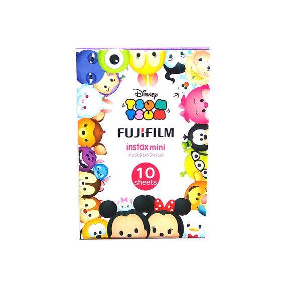 Fujifilm Instax Mini Film Disney Tsum Tsum by MaterialDream