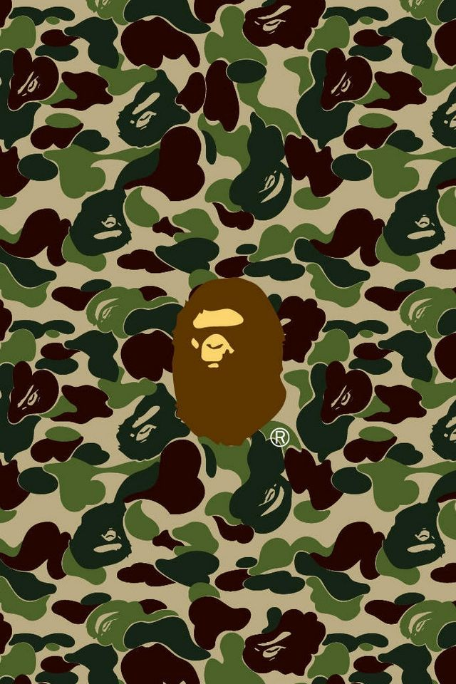 bape iphone wallpaper logo brands bape bape hintergrundbilder f 252 r iphone 4 10223
