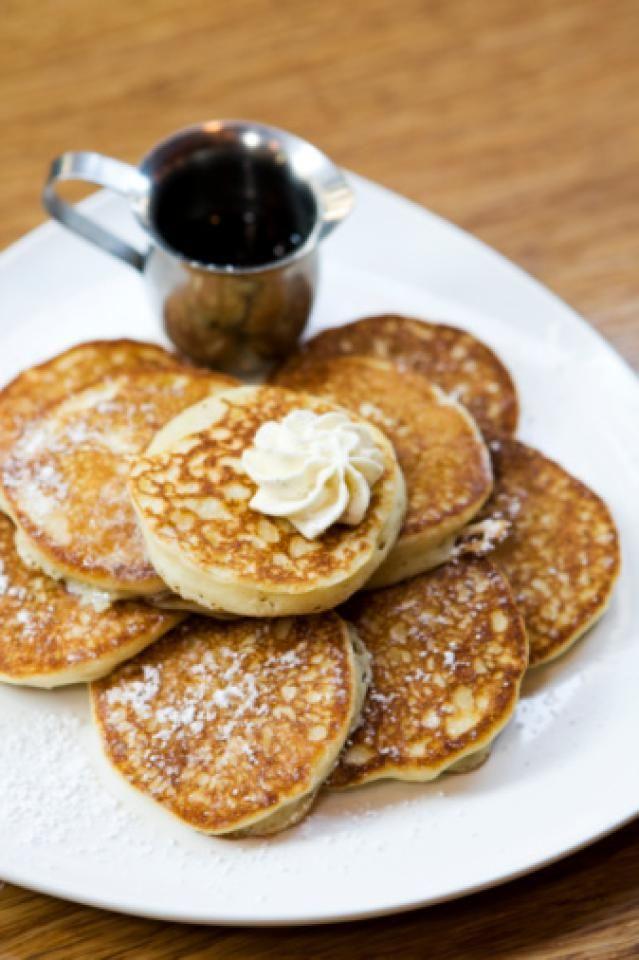 Hodgson Mill Gluten-Free Buckwheat Pancake Recipe (substitute Stevia for sugar and regular milk for almond or coconut milk)
