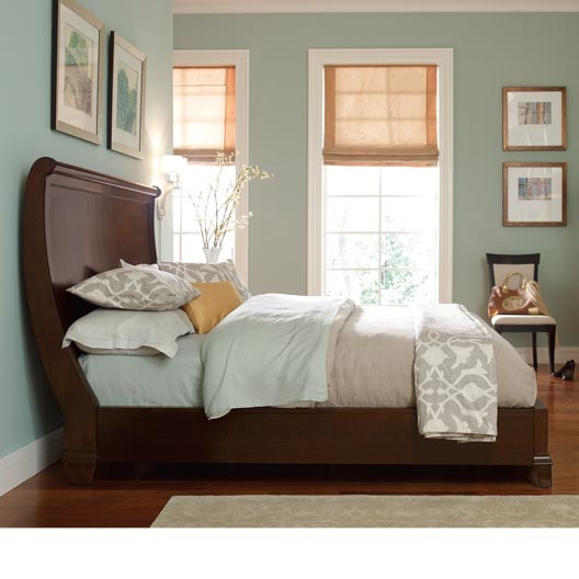 Modern Heritage Sleigh Bed From HGTV I Just Wish It Had Some Type Of Foot