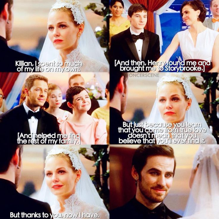 6x20 - The Song In Your Heart - Emma & Killian's Wedding! Emma's vows