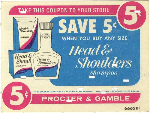 Vintage Proctor and Gamble Coupon
