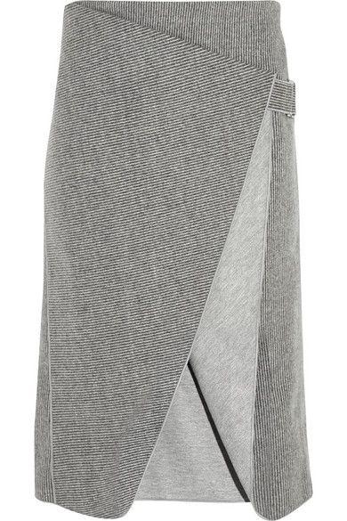 DION LEE gray skirt  #minimalist #fashion #style