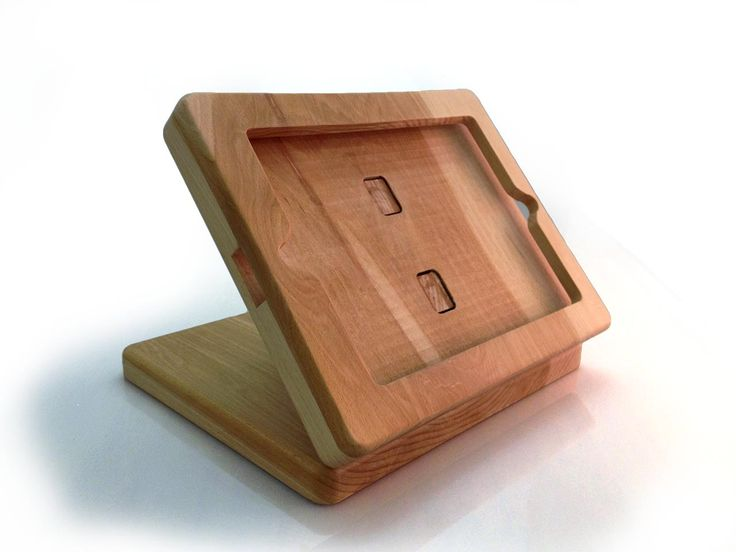 Wooden iPad Stand - Man Made Industries