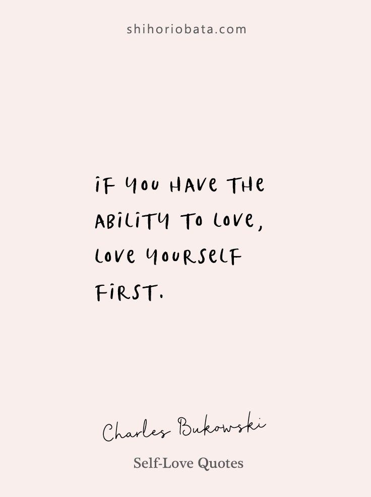 20 Self Love Quotes For A Beautiful Life Self Love Quotes Love