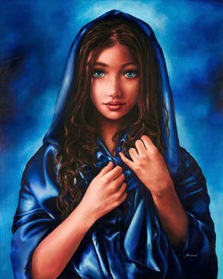 "9yr old, Akiane Kramarik painted, ""Innocense"" Mary, Mother of Jesus"