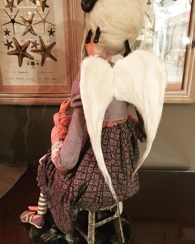 Handcrafted Angel of Creativity €285 #christmasgiftsforher #artisangifts #craftwork