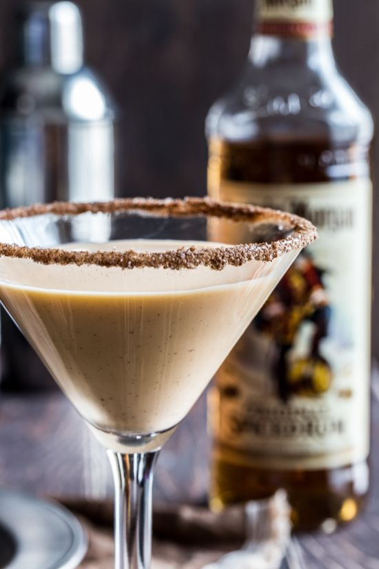 "Pumpkin Eggnog Martini #martini www.LiquorList.com ""The Marketplace for Adults with Taste!"" @LiquorListcom #LiquorList"