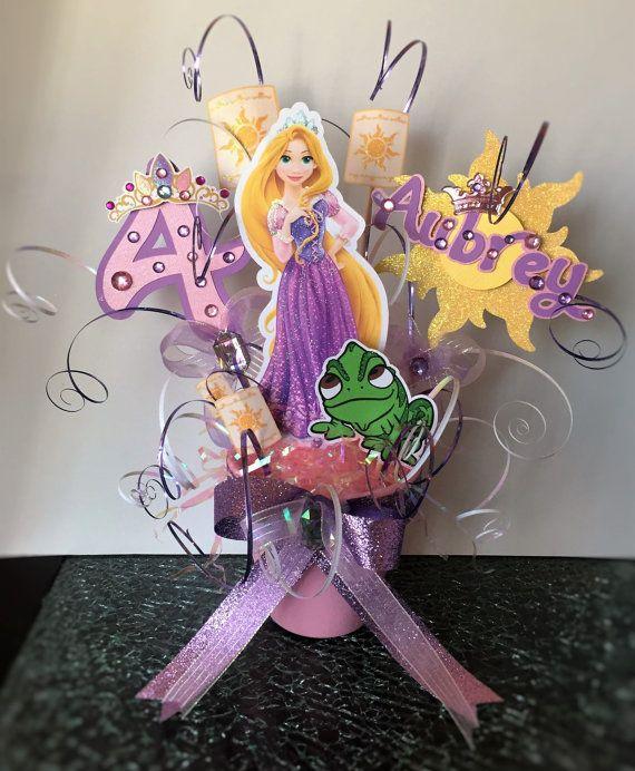 Centro de mesa tema enredados/Rapunzel por CreativeMoments4You