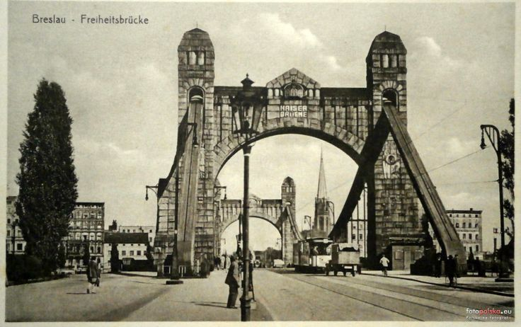 Lata 1930-1940 , Most Grunwaldzki.