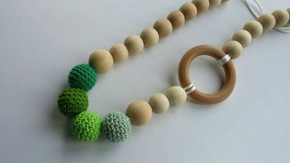 Hey, I found this really awesome Etsy listing at https://www.etsy.com/ca/listing/291055267/green-gradient-nursing-necklace-for-mom