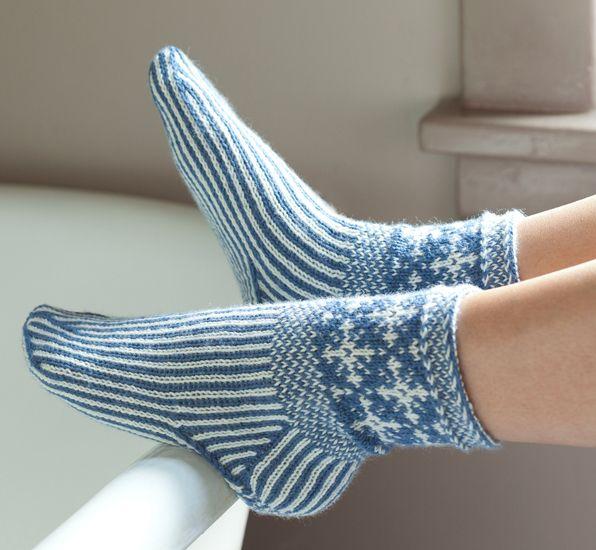 Martingale - Knitting Scandinavian Slippers and Socks (Print version + eBook bun