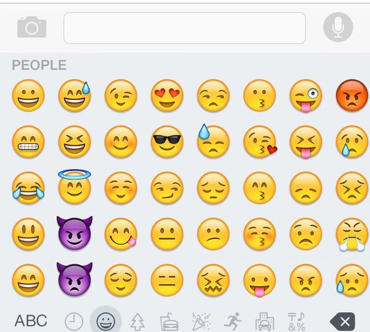 Finding Your iPhone's Secret Emoji Keyboard Emoji
