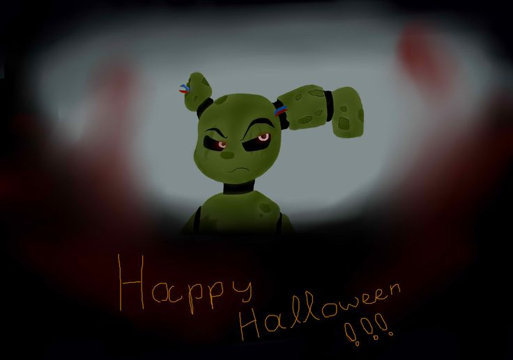 Halloween is very close! ^.^ so I made this Springrtrap pic, inspired by shgurr. Took me like, forever, so I hope you like it!<< Now Halloween is very far behind though =P
