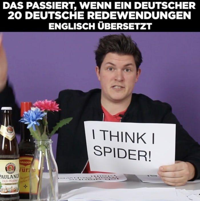 Das Passiert Wenn Ein Deutscher 20 Deutsche Redewendungen