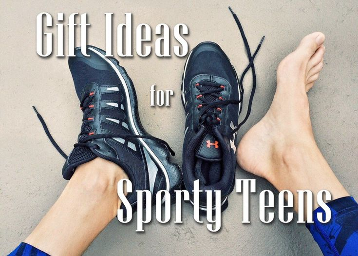Original birthday and Christmas gift ideas for teen boys who love playing sports and being active. What to get a sporty teen boy for his birthday or Christmas.
