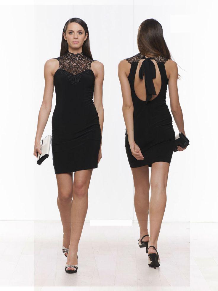#black #minidress #stretch #weekend #sexy #cocktaildress #party #partydress #fashion #fashionista #glamour #night #spring #springsummer 2015