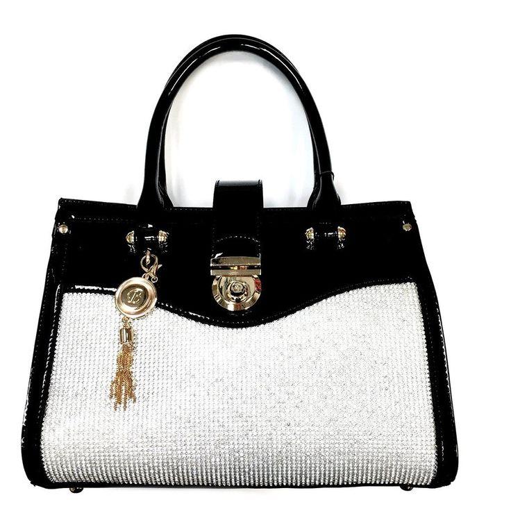 $89.99 - Premium Leather Rhinestone Handbags
