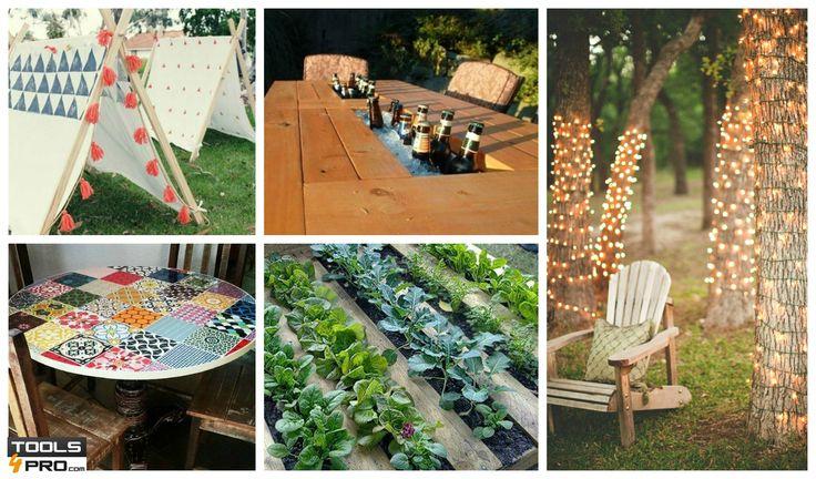 Des idées qui Inspirent pour Reformer votre Jardin Qui a un jardin a un trésor. Pour cela, nous vous expliquons aujourd'hui comment profiter au maximum de l'espace vert de votre maison. Ces idées vous inspireront pour concevoir un nouvel espace dans lequel se reposer et profiter de la nature. #Diy   #inspiration   #bricolage   #astuces   #outils   #trucs  #décoration   #idées   http://fr.tools4pro.com/blog/45_systeme-de-nivellement-jardin