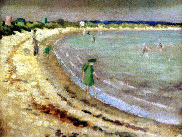Studland Beach, Dorset. Roger Fry, 1911.