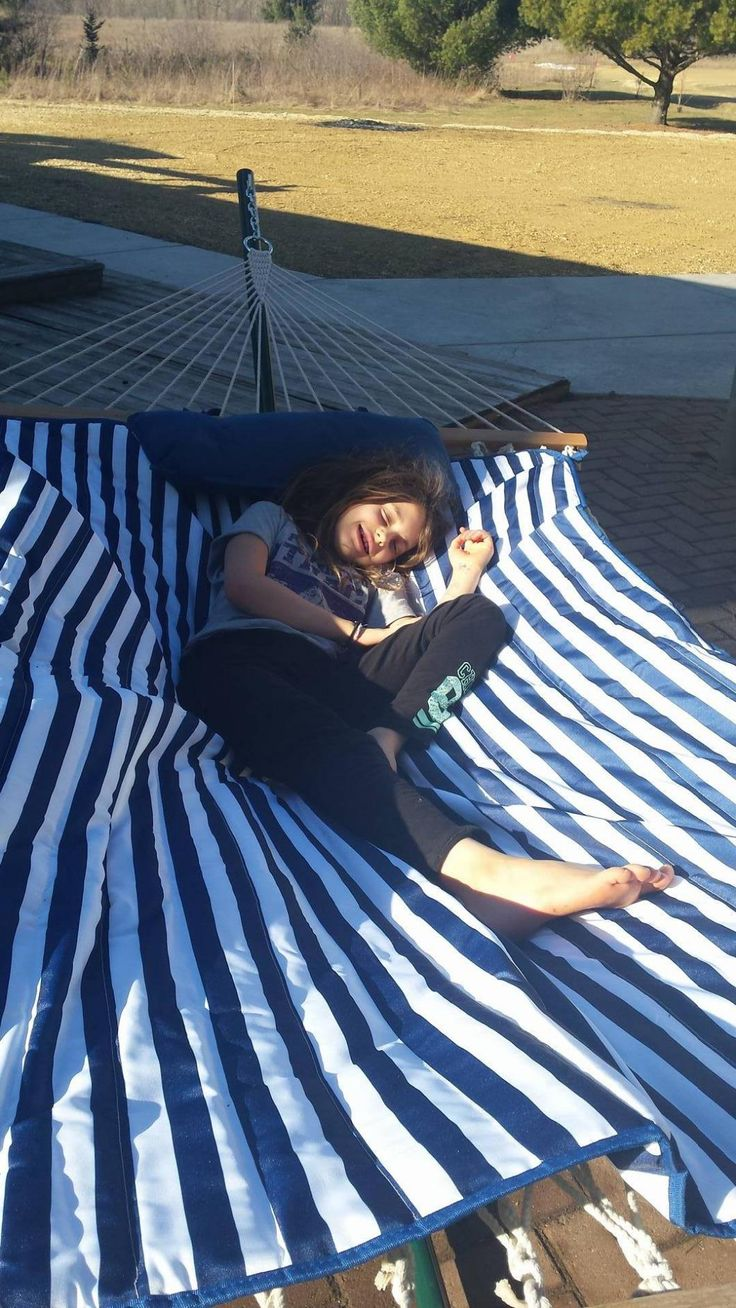 This hammock is so nice, I want another one in my yard!
