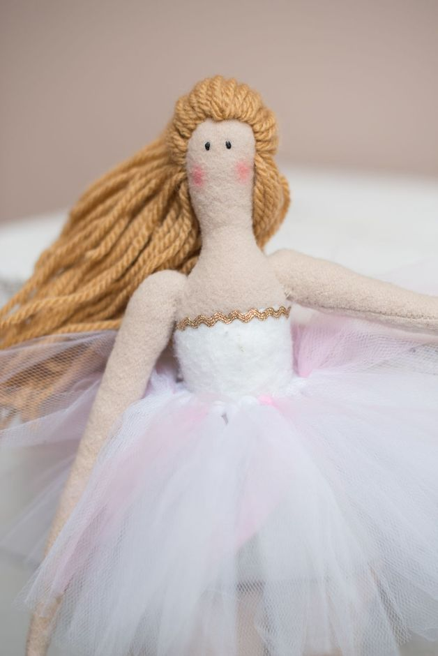 Tola - lalka baletnica - uhuhandmade - Lalki