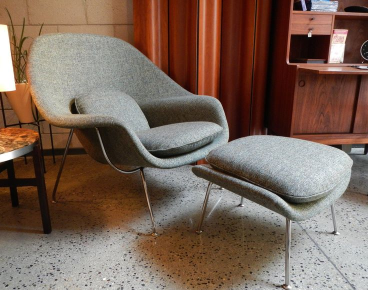 Knoll 'Womb' Chair and Ottoman