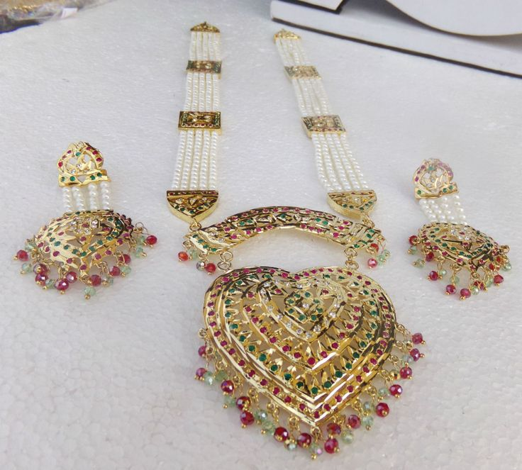 10 best Pakistani Gold Plated Jewelry images on Pinterest ...