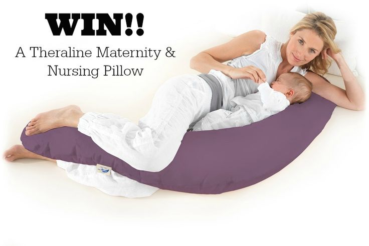 THERALINE MATERNITY PILLOW GIVEAWAY!