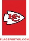 "Chiefs Mini Flag 15"" x 10 1/2"""