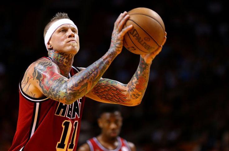 NBA Hardwood Classics 2012-13, Chris Andersen, Miami Heat.