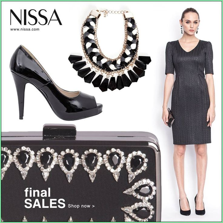 www.nissa.com   #nissa #outfit #sale #shop #final #sales #reduceri #promotion #offer #look #style #stylish #fashion #fashionista #dress #heels #clutch #necklace #accessories