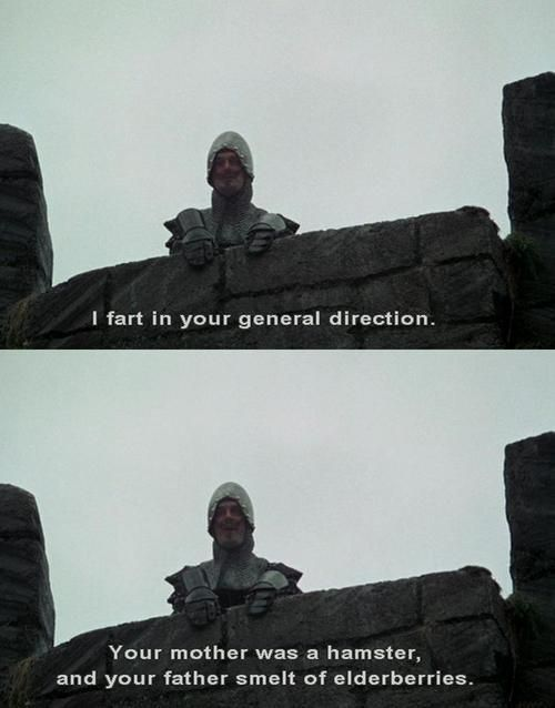 Monty Python and the Holy Grail: oh so funny