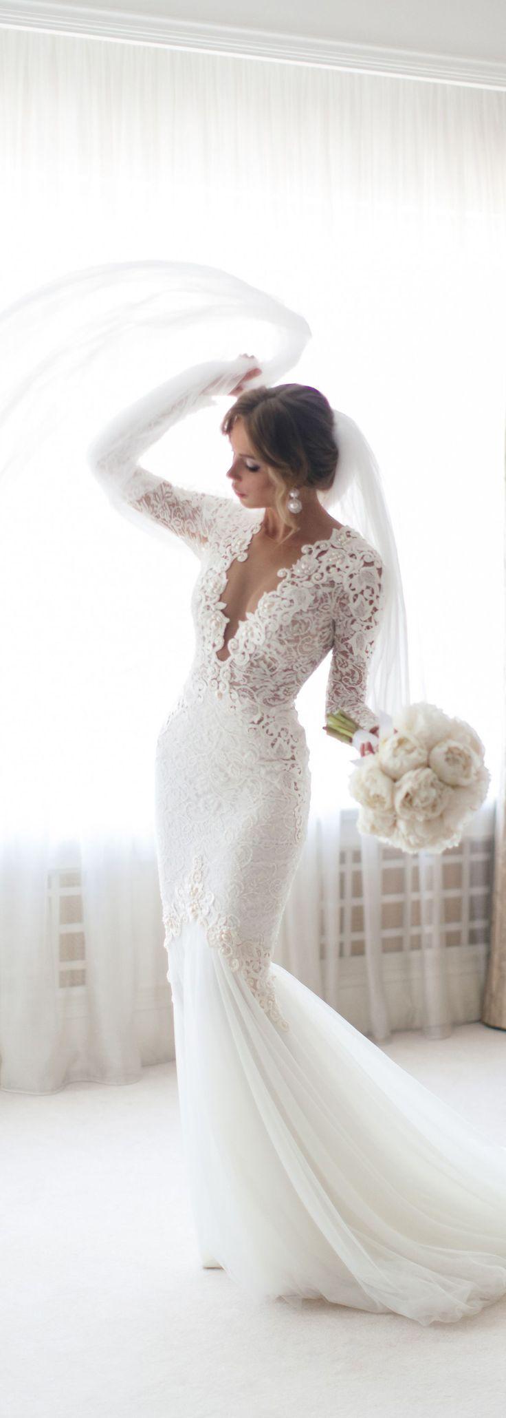 575 best Wedding dresses images on Pinterest | Hochzeitskleider ...