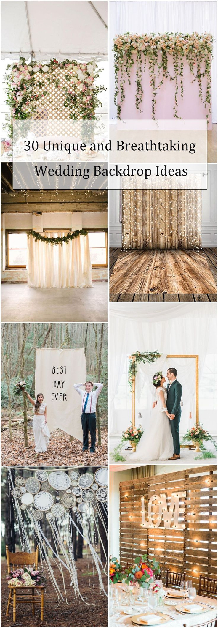 wedding ideas nwa 30 unique and breathtaking wedding backdrop ideas id 233 e 28269