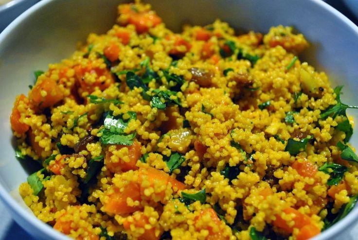 true taste hunters - kuchnia wegańska: Tabbouleh z ostro-słodkimi marchewkami i prażonymi...