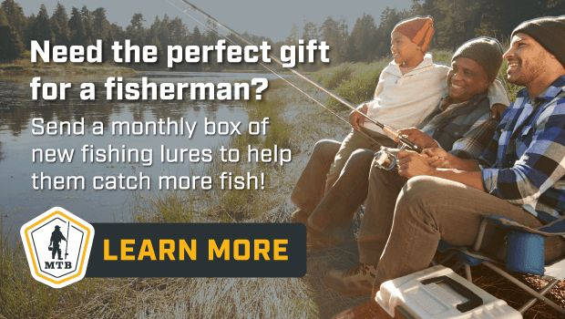 Cute gift idea for the fishing enthusiasts in your life: $10.00 Off Your First Mystery Tackle Box Code USFAM10. New fishing products delivered monthly. http://mtbfish.com/holidaygiftUSFAM