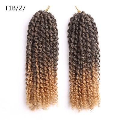 12inch Crochet Hair Extensions Heat Resistant