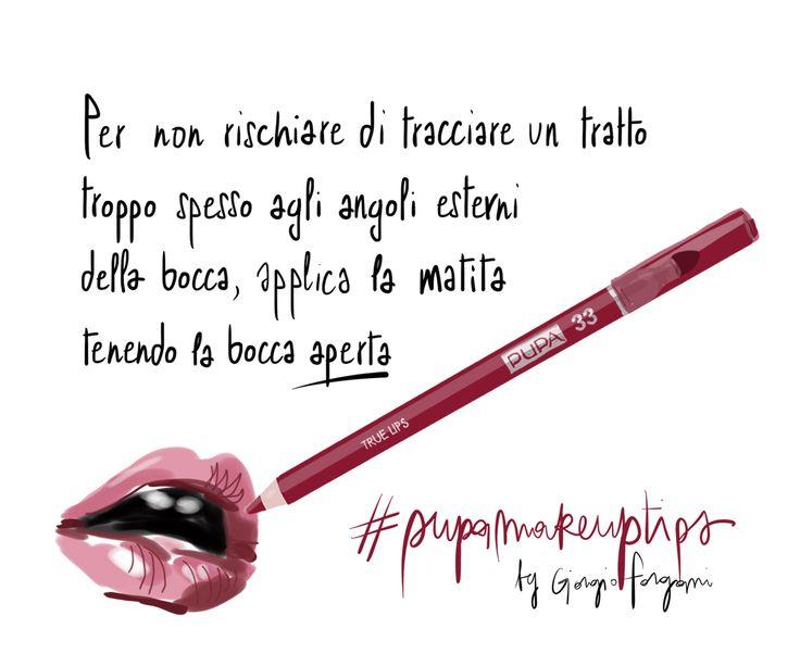 PUPA make up tips by MUA Giorgio Forgani, Open Toe illustrations