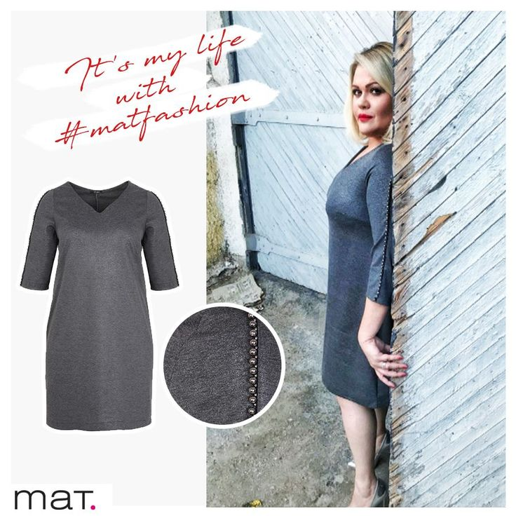 Η @hrislageo βρήκε το μυστικό της κομψότητας στο θηλυκό midi dress. Με μεταλλικές λεπτομέρειες που απογειώνουν το στυλ!  Midi φόρεμα με διακόσμηση στα μανίκια ➲ code: 681.7225  #matfashion #fw1718 #collection #lovematfashion #ootd #mididress #matfashionistas #fashion #style