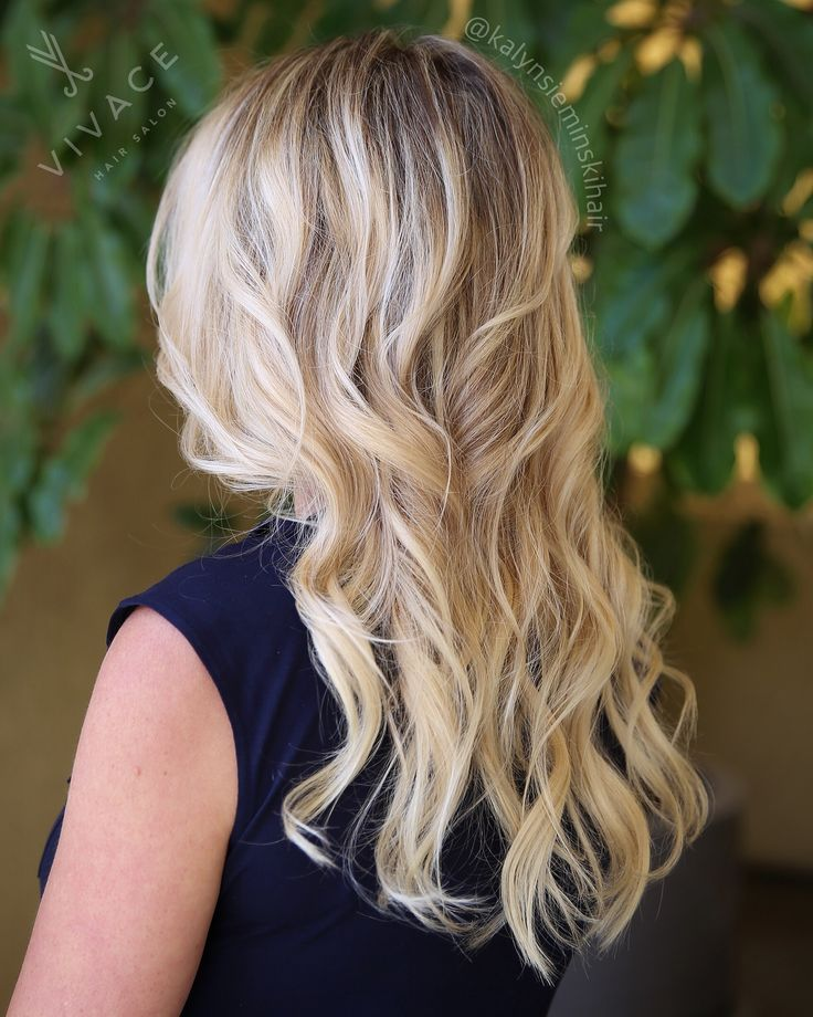 BRIGHT TONES & EXTENSIONS by Kalyn Sieminski. These are tape weft hair extensions that add length & volume and can last up to 1 year with proper maintenance!